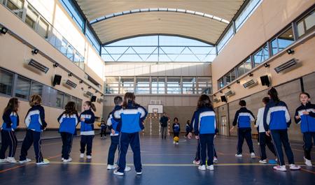 Pabellón colegio Valdemoro Nobelis
